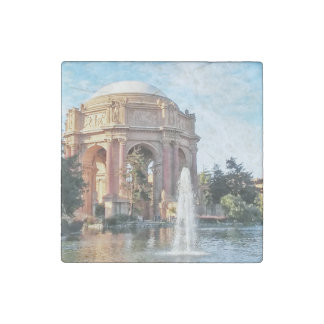 Palace of Fine Arts - San Francisco Stone Magnet