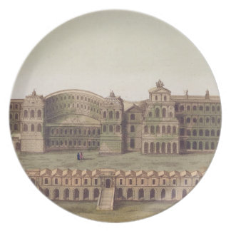 Palace of the Caesars, Rome, from 'Le Costume Anci Party Plates