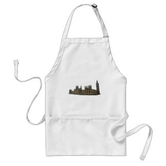 Palace of Westminster: Houses of Parliament: Standard Apron