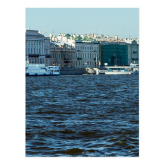 palaces on neva river St Petersburg Russia Postcard