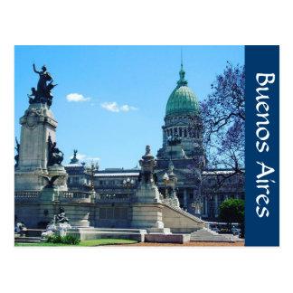 palacio buenos aires postcard
