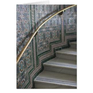 Palacio de Communicaciones, Moorish tiles Card