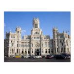 Palacio de Comunicaciones in Madrid Postcard