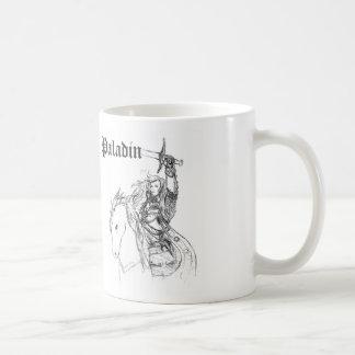 Paladin Knight Woman Warrior Princess Basic White Mug