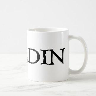 Paladin Mug with Black Font