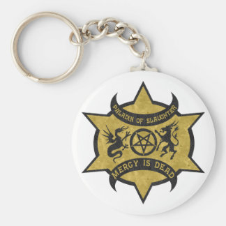 Paladin of Slaughter Key Chains