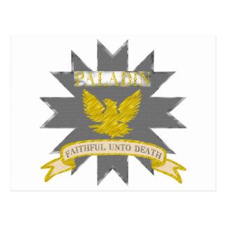 Paladin Post Cards