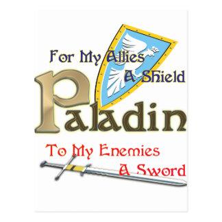Paladin Postcard