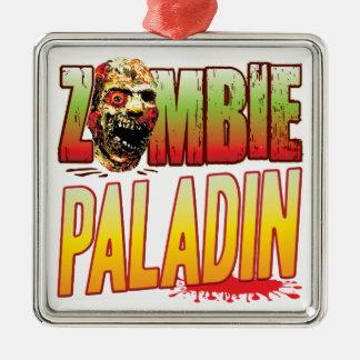 Paladin Zombie Head Christmas Ornaments