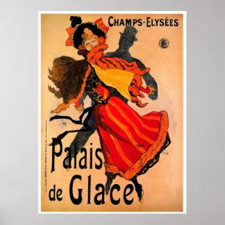 Palais de Glace 1896 ~ Vintage Poster