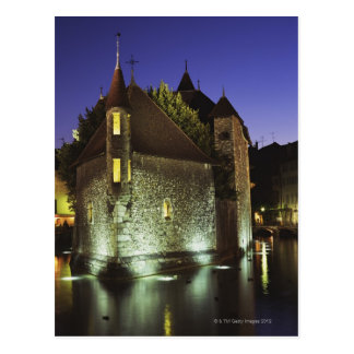 Palais de l'Isle museum in Annecy, France 2 Postcard