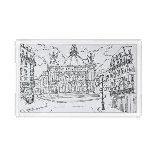 Palais Garnier Opera House | Paris, France Acrylic Tray