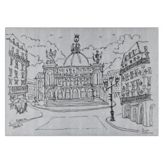 Palais Garnier Opera House | Paris, France Cutting Board