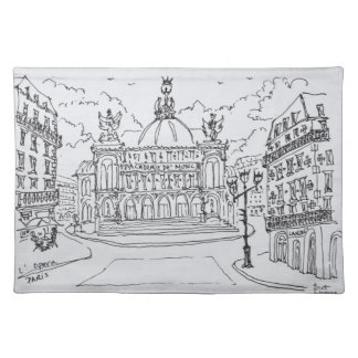 Palais Garnier Opera House | Paris, France Placemat