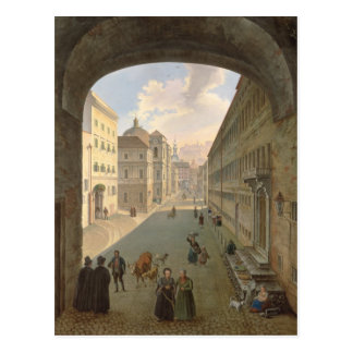 Palais Lodron, Salzburg, 1833 Postcard
