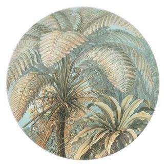 Palatial Palms Plate