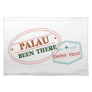 Palau Been There Done That Placemat