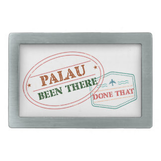 Palau Been There Done That Rectangular Belt Buckle