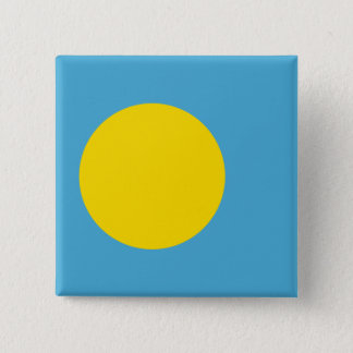 Palau Flag 15 Cm Square Badge