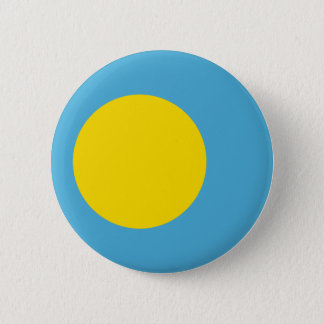 Palau Flag 6 Cm Round Badge