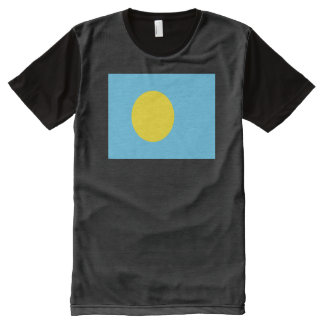 Palau Flag All-Over Print T-Shirt