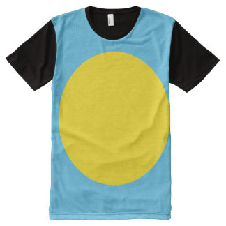 Palau Flag All-Over Print T-Shirt