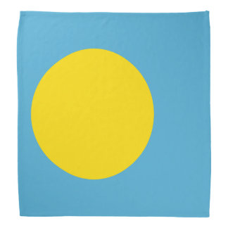 Palau Flag Bandana