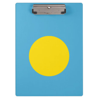 Palau Flag Clipboard