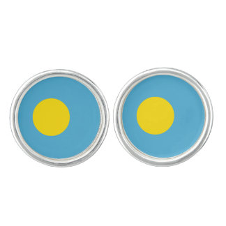 Palau Flag Cufflinks