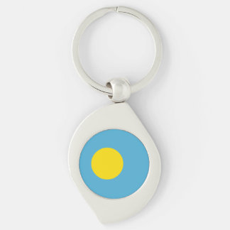 Palau Flag Key Ring