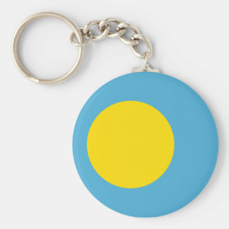 Palau Flag Key Ring