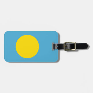 Palau Flag Luggage Tag