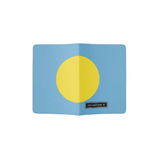 Palau Flag Passport Holder
