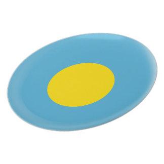 Palau Flag Plate