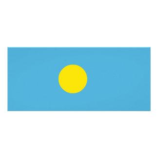 Palau Flag Rack Card