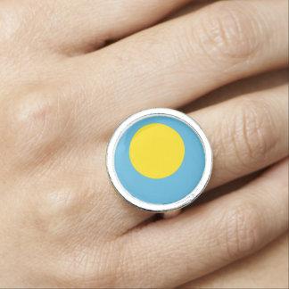 Palau Flag Ring