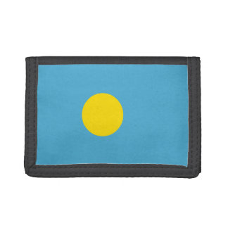 Palau Flag Tri-fold Wallets