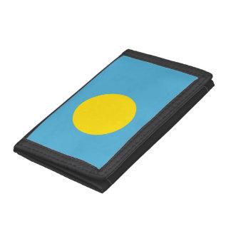Palau Flag Trifold Wallet