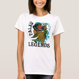 Palau Turtle & Grass Skirt Legend T-Shirt