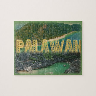 "Palawan ""the best island in the world"" jigsaw puzzle"