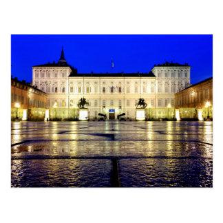 Palazzo reale di Torino Postcard