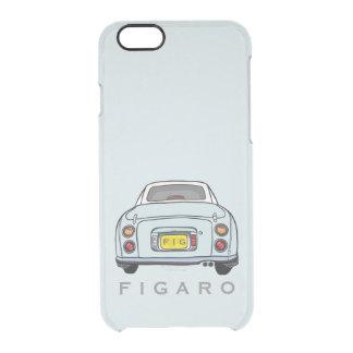 Pale Aqua Figaro Car Personalized Clear iPhone 6/6S Case