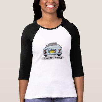 Pale Aqua Nissan Figaro Driver Customise T Shirt