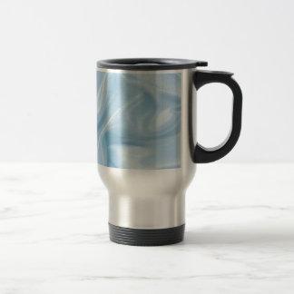 Pale Baby Blue Satin Mugs