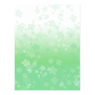 Pale Blossoms Postcard