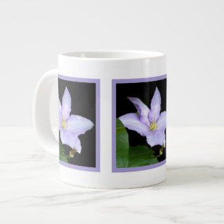 Pale Blue Clematis Extra Large Mugs