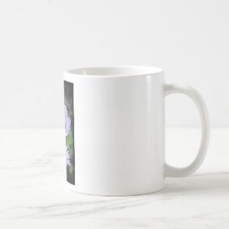 Pale Blue Flower Coffee Mug