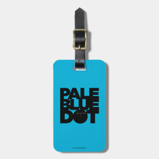 Pale Blue Luggage Tag