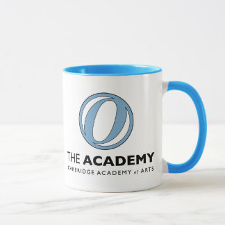 Pale Blue Ringer Mug