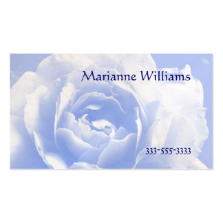 Pale Blue Rose Mommy Card Pack Of Standard Business Cards